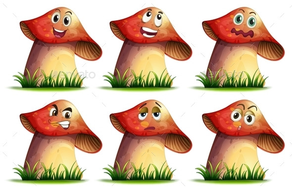 GraphicRiver Mushroom Expression 9429867