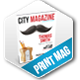 50 Pages City Magazine Template - GraphicRiver Item for Sale