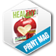 Healthy Magazine Template - GraphicRiver Item for Sale