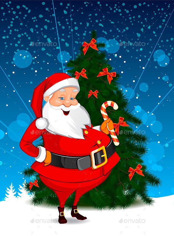 GraphicRiver Christmas Santa 9400765