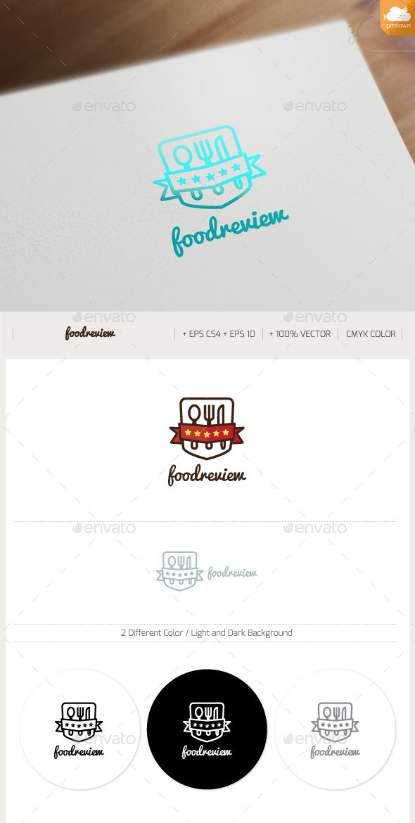 GraphicRiver Food Review 9430558