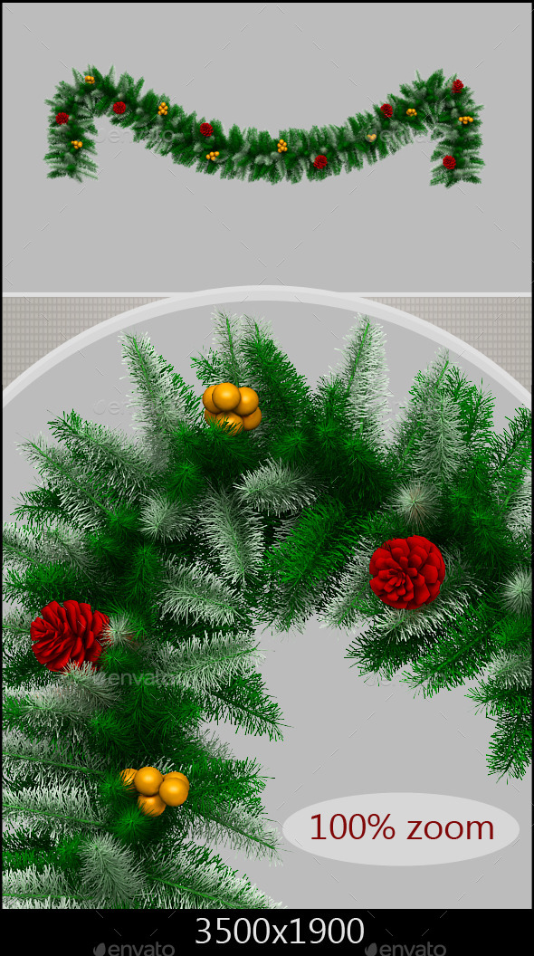 GraphicRiver Christmas Branch 9430691