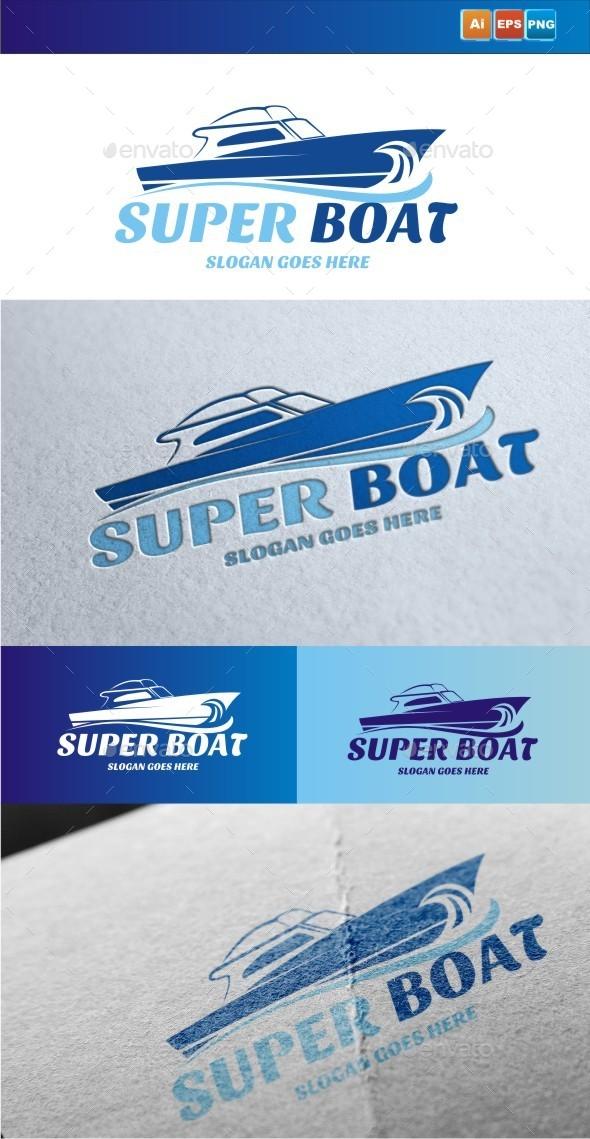 GraphicRiver Super Boat 9430709