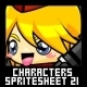 Characters Spritesheet 21 - GraphicRiver Item for Sale