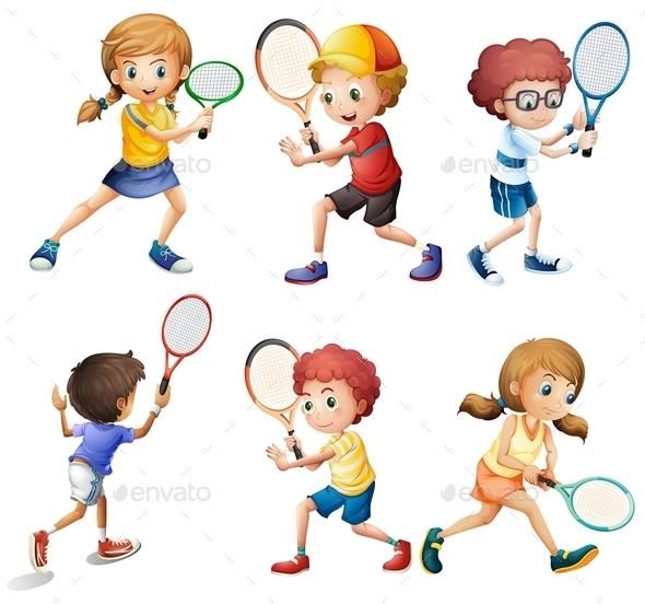 GraphicRiver Tennis Actions 9430739
