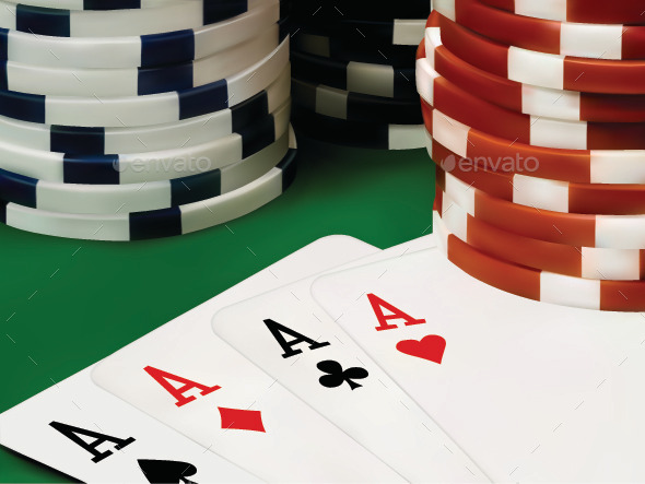 GraphicRiver Poker Chips and Cards 9430815