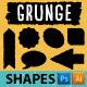 Grunge Shapes - GraphicRiver Item for Sale