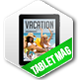 Tablet Vacation Magazine Issue Three - GraphicRiver Item for Sale