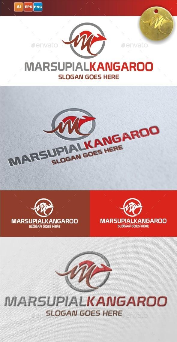GraphicRiver Marsupial Kangaroo 9431144