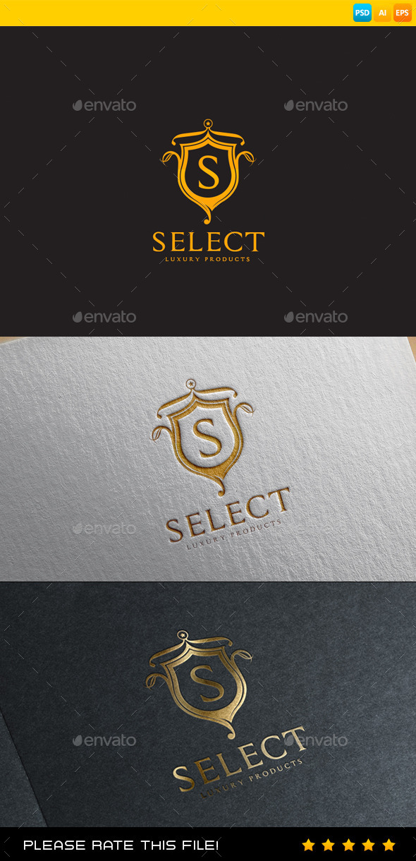 GraphicRiver Luxury Logo 9431506