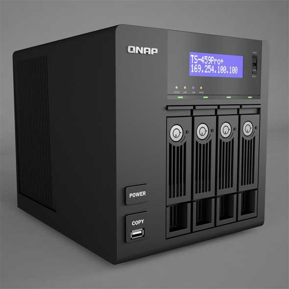3DOcean QNAP Network Attached Storage 9431547