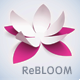 Rebloom - Responsive Vertical Menu Split Page Theme - ThemeForest Item for Sale
