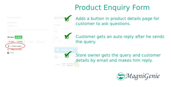 CodeCanyon Prestashop Product Enquiry Form 9431712
