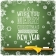 Merry Christmas and a Happy New Year Message - GraphicRiver Item for Sale