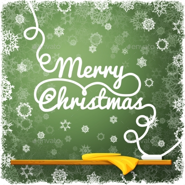 GraphicRiver Merry Christmas Message 9431949