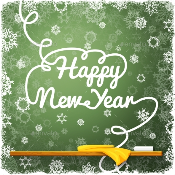 GraphicRiver Happy New Year Message 9431952