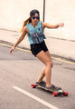 Skateboarder girl - PhotoDune Item for Sale
