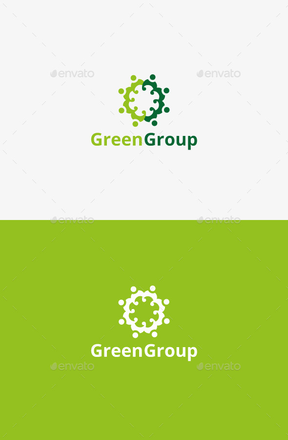 GraphicRiver Green Group 9432036