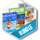 Vacation Magazine Bundle - GraphicRiver Item for Sale
