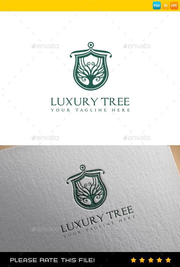 GraphicRiver Tree Logo 9432038