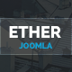 Ether - One Page Multipurpose Joomla Template - ThemeForest Item for Sale