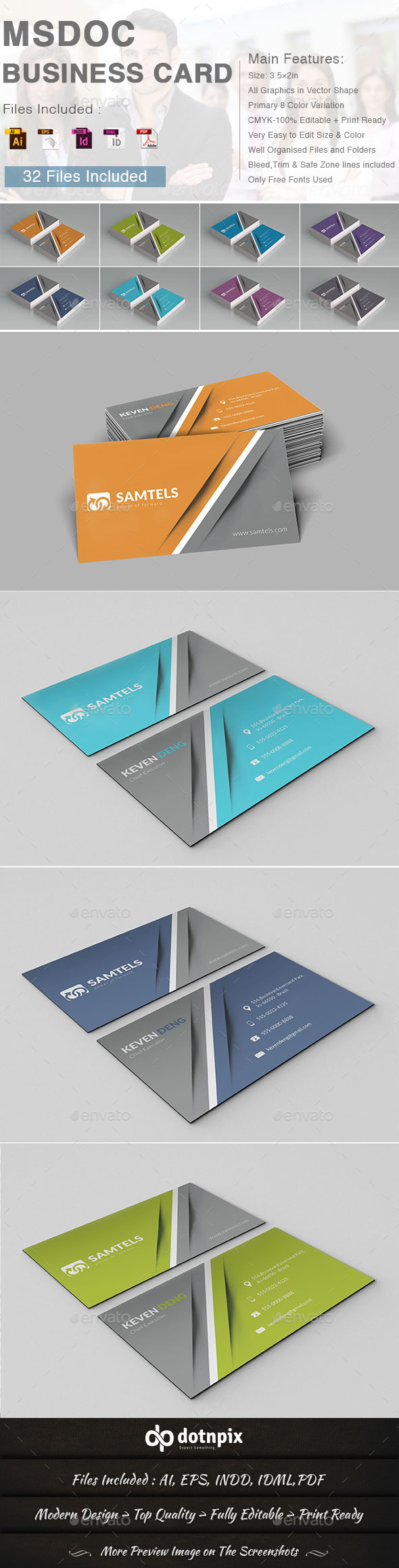 GraphicRiver Msdoc Business Card 9432073