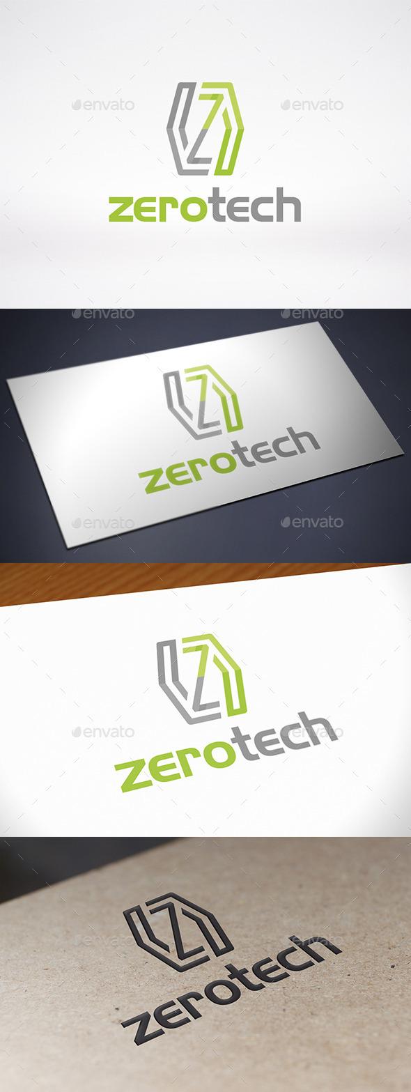 GraphicRiver Zero Letter Z Logo Template 9432234