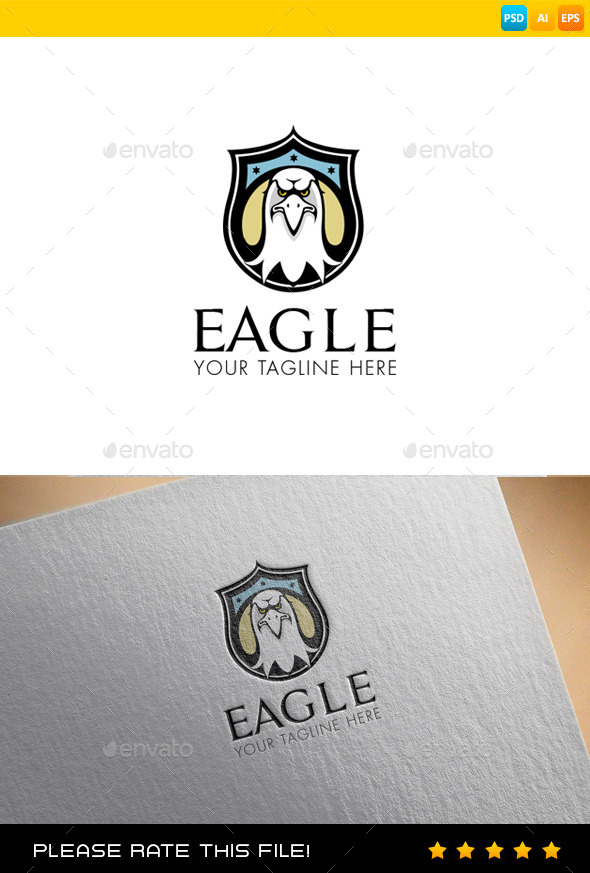 GraphicRiver Eagle Logo 9432354