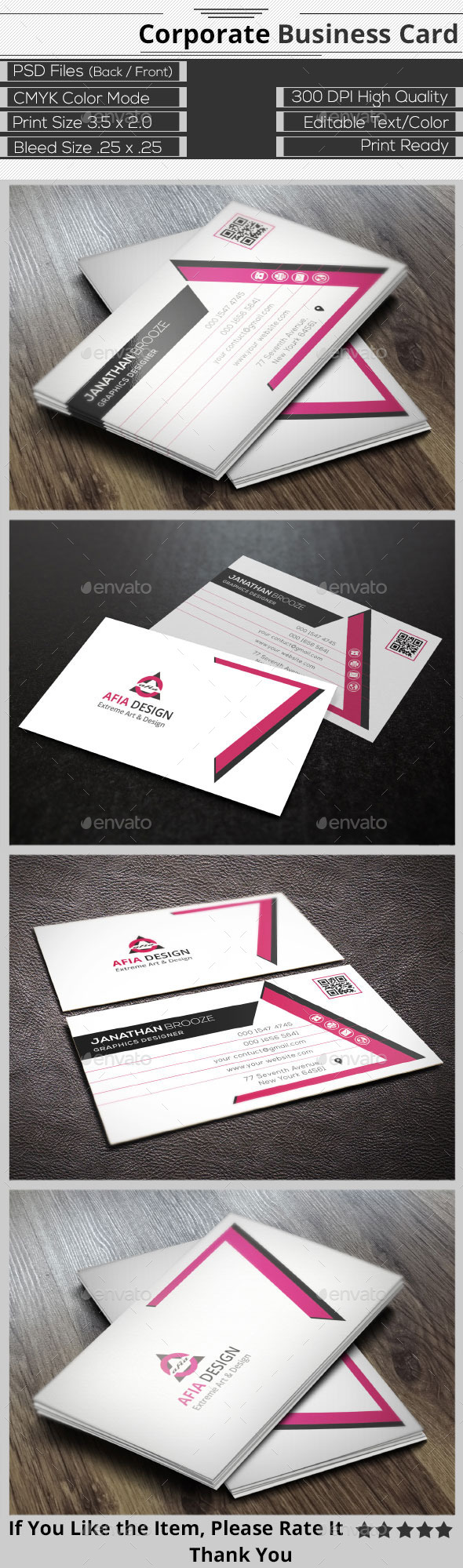 GraphicRiver Elegant Corporate Business Card 9432463