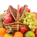 vegetables and fruits in a basket - PhotoDune Item for Sale