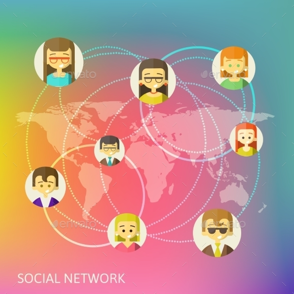 GraphicRiver Social Media Circles 9432932