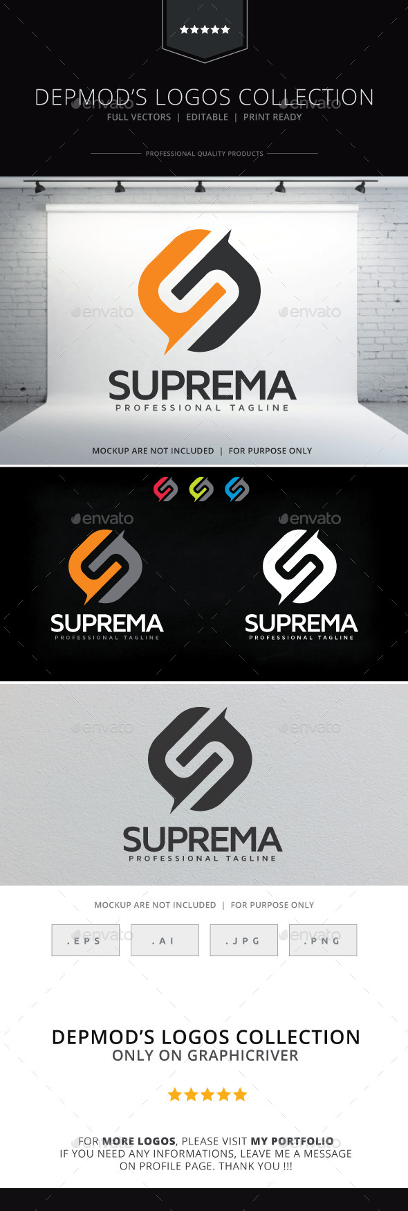 GraphicRiver Suprema Logo 9432956