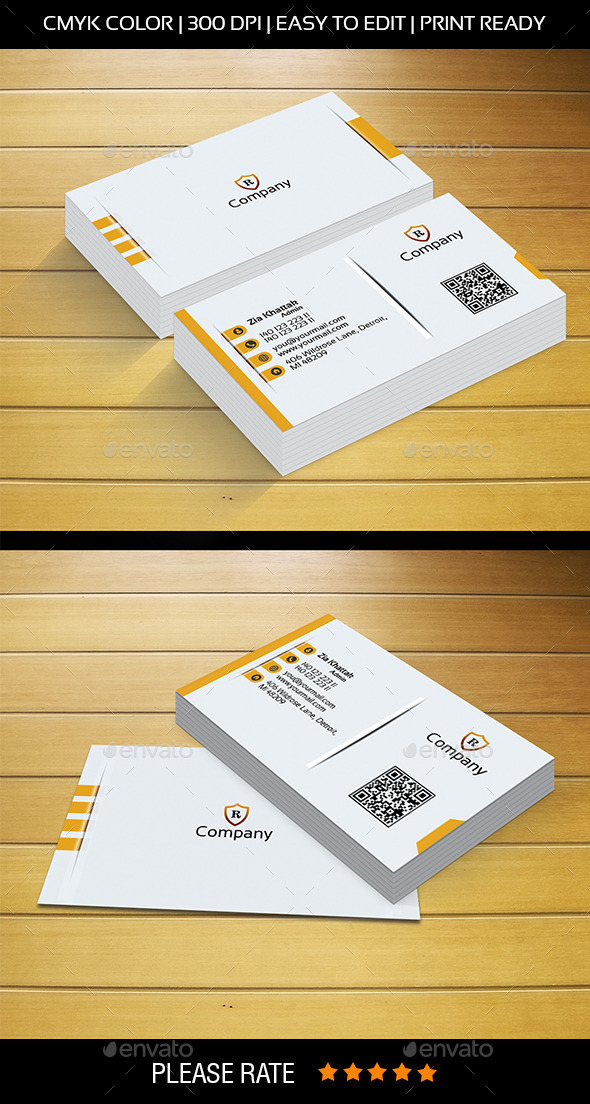 GraphicRiver Modren Business Card 9304658