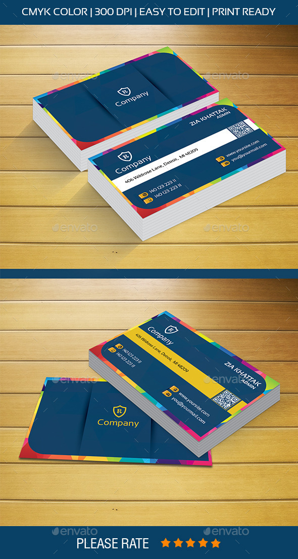 GraphicRiver Creative Design Business Card 9304572
