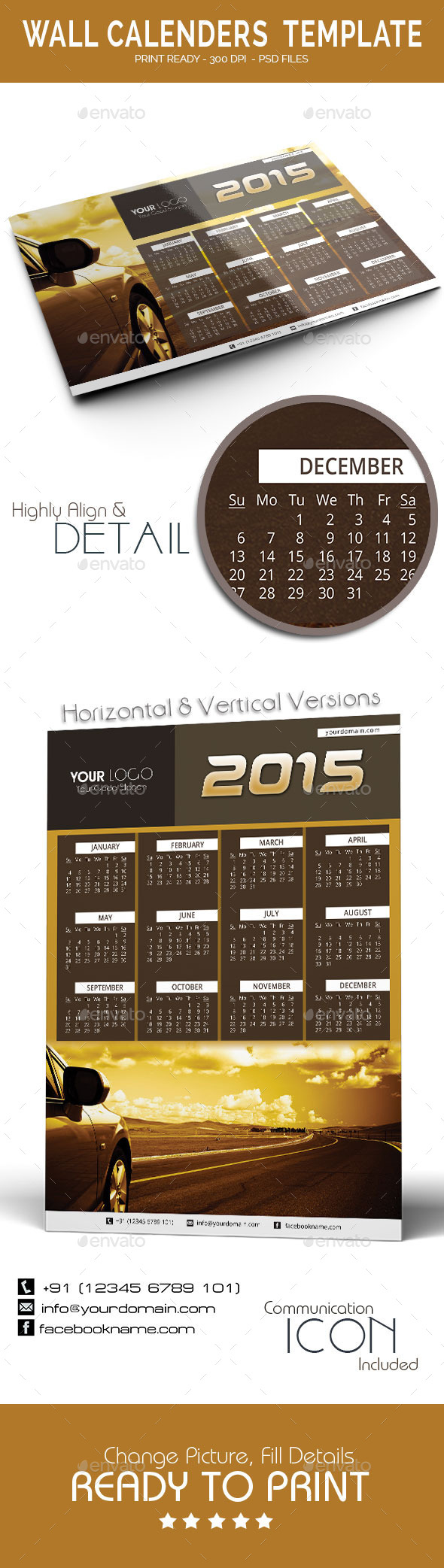 Calenders Templates 2015