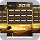 Calenders Templates 2015 - GraphicRiver Item for Sale