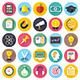Education and Learning Flat Icons - GraphicRiver Item for Sale