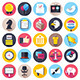 Election and Voting Flat Icons - GraphicRiver Item for Sale