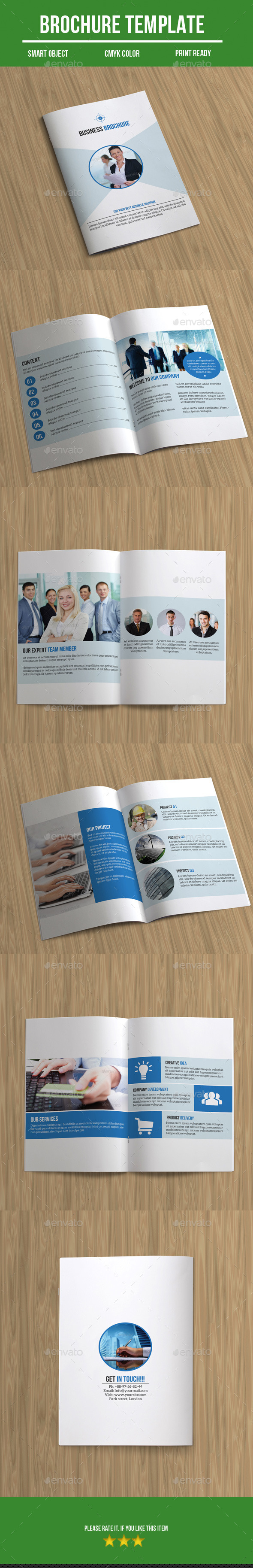 GraphicRiver Bi- Fold Business Brochure 9433137