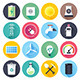 Energy Resources Flat Icons - GraphicRiver Item for Sale