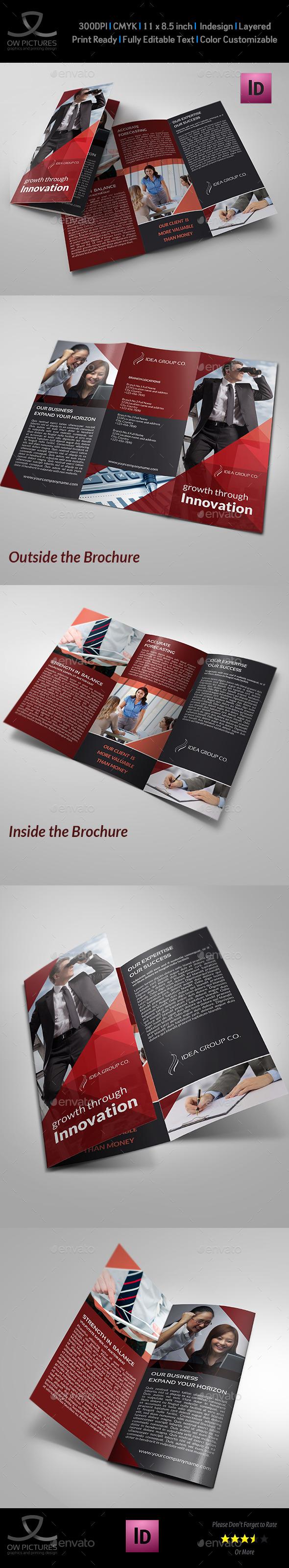 GraphicRiver Corporate Business Tri-Fold Brochure Vol.17 9433224