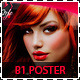 Hair Salon Fashion Style B1 Signage Poster - GraphicRiver Item for Sale