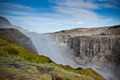 Dettifoss Waterfall in Iceland under a blue summer sky - PhotoDune Item for Sale