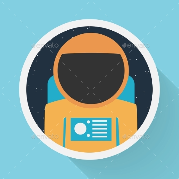 GraphicRiver Astronaut Portrait 9433486
