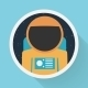 Astronaut Portrait - GraphicRiver Item for Sale