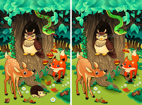 GraphicRiver Spot the Differences 9433621