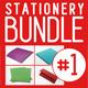 Complete Stationery Mock-up Bundle (set 1) - GraphicRiver Item for Sale