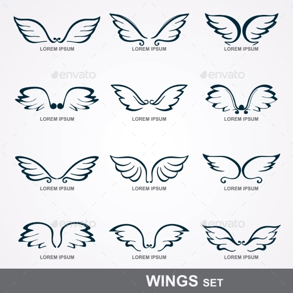 GraphicRiver Wings Collection 9434166