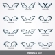 Wings Collection  - GraphicRiver Item for Sale