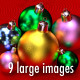 Color 3D Christmas Balls Images - GraphicRiver Item for Sale